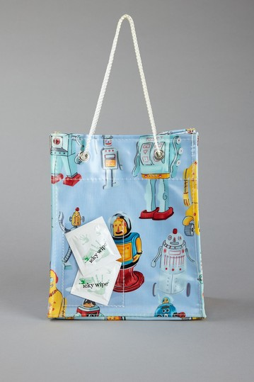 lunch tote- Robot