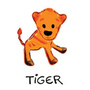Kee-Ka Tiger bodysuit