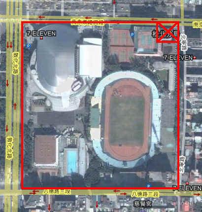 台北球場原址