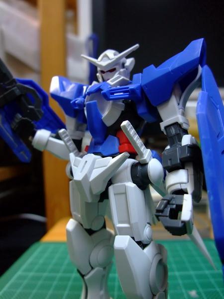 Gundam Exia 素組 1
