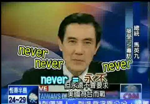 馬英九CNN專訪
