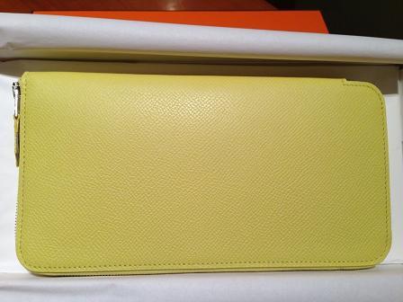 2013新色黃長夾