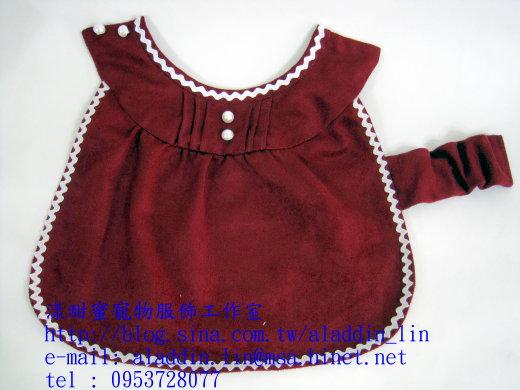 紅色天鵝絨連身服01.JPG