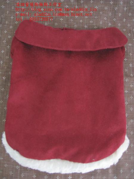 紅色刷毛有領襯衫03.JPG