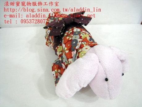 菊花圖樣狗狗日本服04.JPG