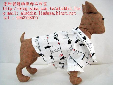 黑白貓帶領狗狗襯衫01.JPG