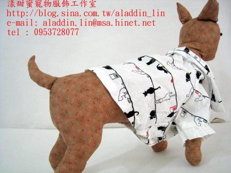 黑白貓帶領狗狗襯衫02.JPG