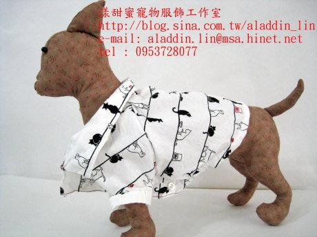 黑白貓帶領狗狗襯衫03.JPG