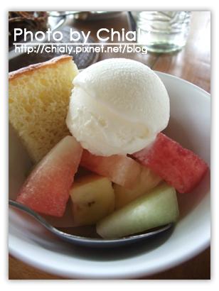 水果冰淇淋。