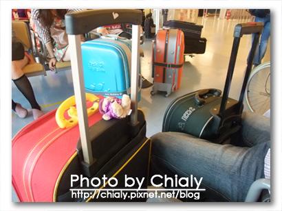 兩咖行李箱。