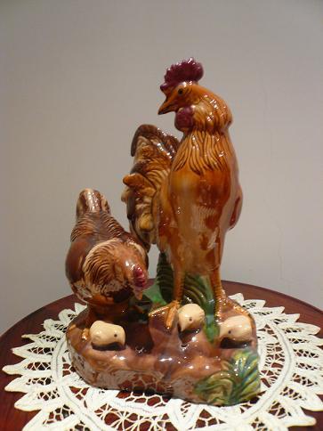 工藝品─雞(49)