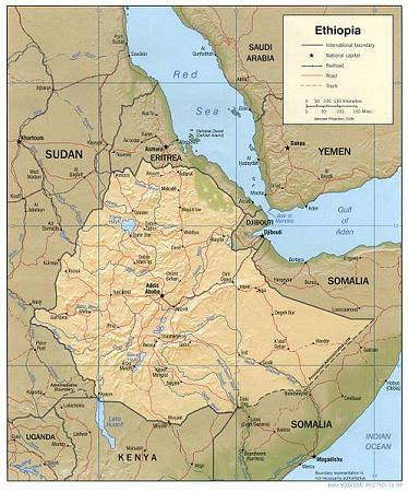 衣索比亞(3)–地理