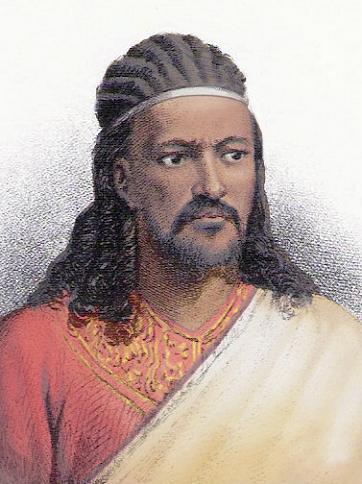 衣索比亞(9)–Téwodros II皇帝