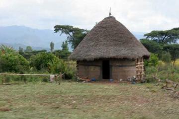衣索比亞(17)–鄉村住屋
