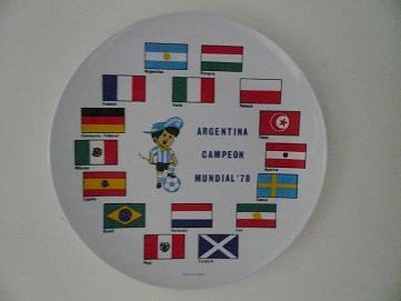 1978世足賽冠軍紀念掛盤