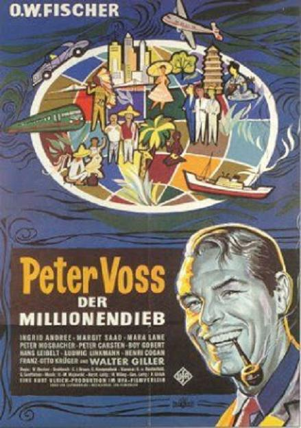 百萬奇案 (Peter Voss, der Millionendieb)