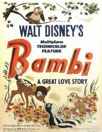 小鹿班比 (Bambi)