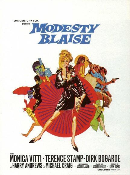 女諜玉嬌龍 (Modesty Blaise)