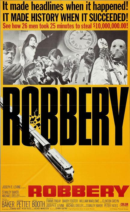 火車大劫案 (Robbery)