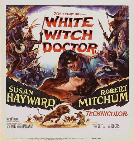 非洲白天使 (White Witch Doctor)