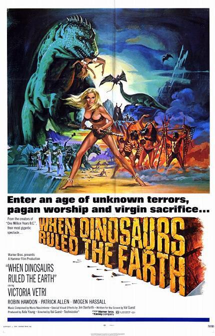 洪荒世界 (When Dinosaurs Ruled the Earth)