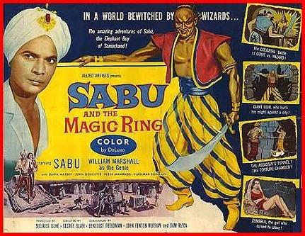 魔鐶 (Sabu and the Magic Ring)