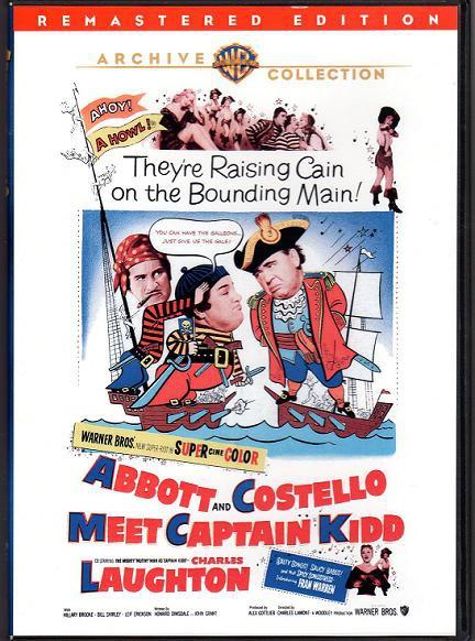 骷髏島奪寶歷險記 (Abbott and Costello Meet Captain Kidd)