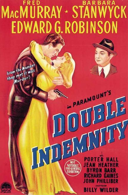 火車謀殺案 (Double Indemnity)