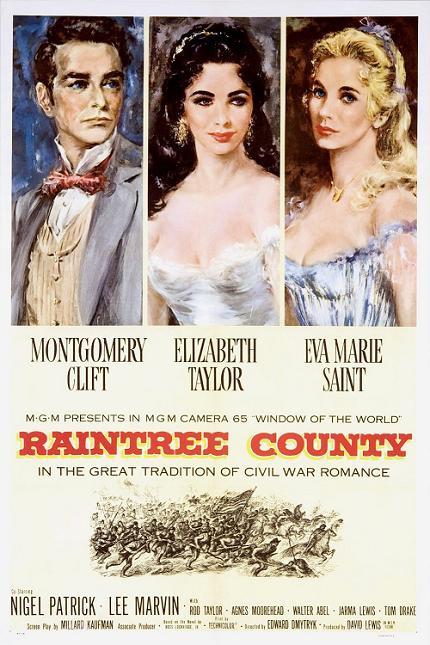 戰國佳人 (Raintree County)