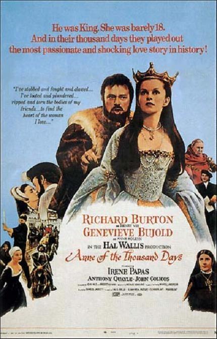 安妮一千日 (Anne of the Thousand Days)