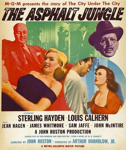 夜闌人未靜 (The Asphalt Jungle)