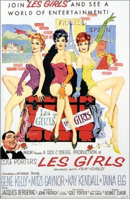 美女霓裳 (Les Girls)