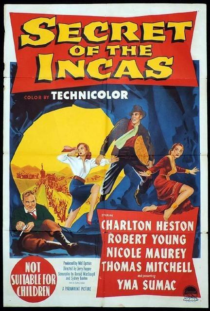 金殿奪寶 (Secret of the Incas)