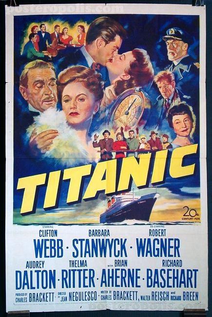 鐵達尼郵船遇險記 (Titanic)