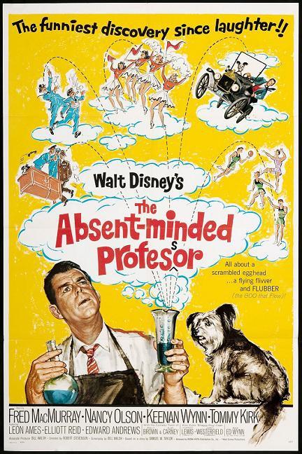飛天老爺車 (The Absent-Minded Professor)