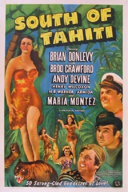豹女郎 (South of Tahiti)