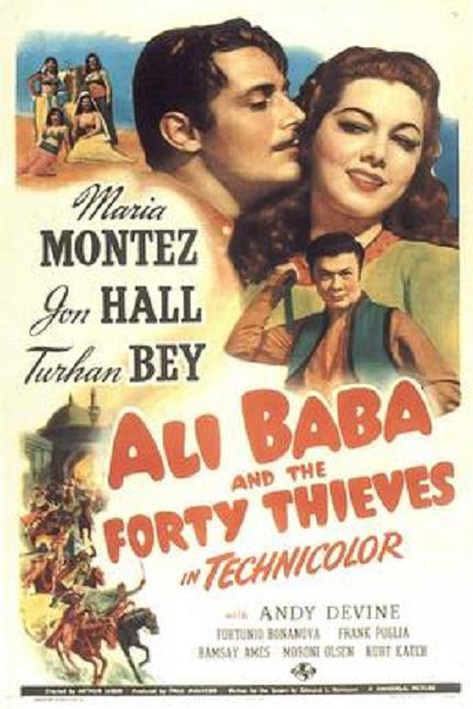 阿利巴巴四十大盜 (Ali Baba and the Forty Thieves)
