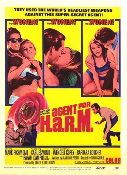 間諜化骨鎗 (Agent for H.A.R.M.)