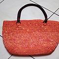 夏日橘子(紙線)側背包.JPG