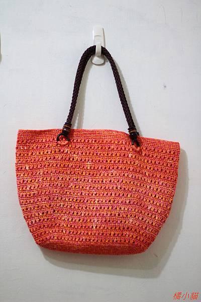 夏日橘子(紙線)側背包 (2).JPG