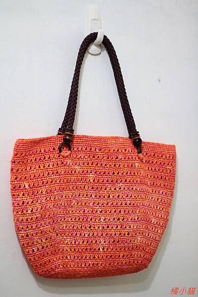 夏日橘子(紙線)側背包 (4).JPG