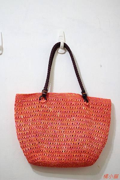 夏日橘子(紙線)側背包 (6).JPG