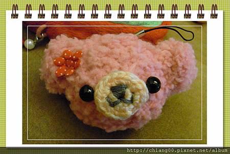 甜美款小熊頭