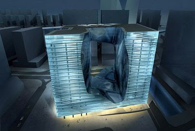 杜拜的融冰大樓..The Opus