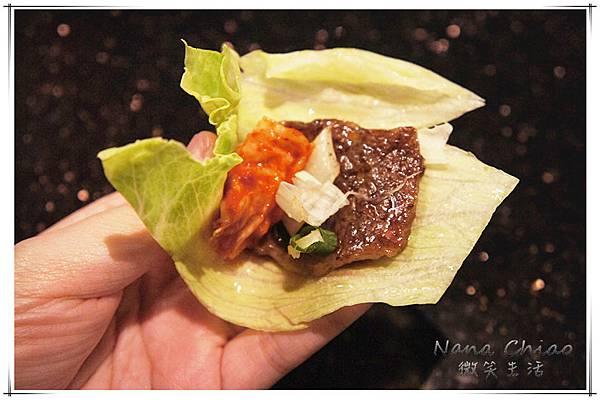牛肉夾生菜-台中公益路燒烤推薦