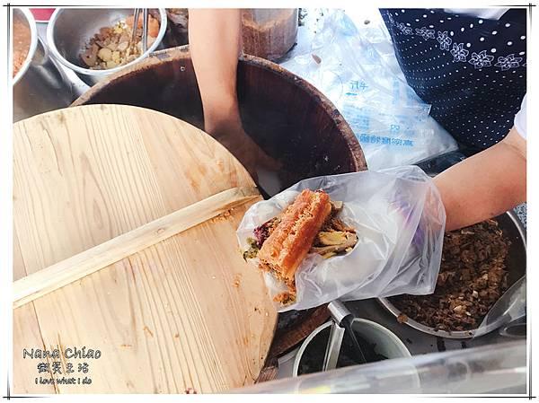 台中早餐-梅亭街無名飯糰-紫米飯糰04.jpg