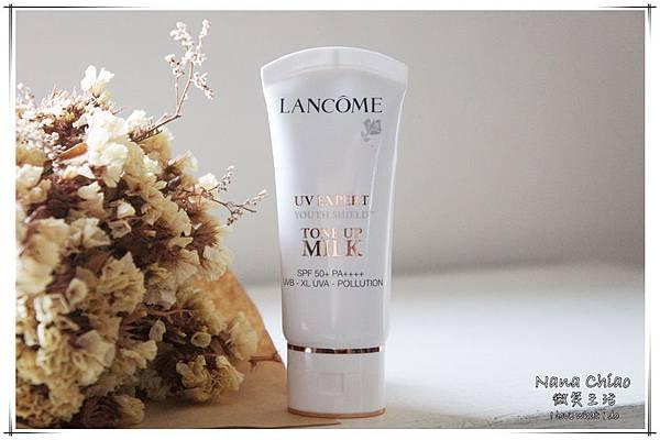 蘭蔻Lancôme-超輕盈UV提亮素顏霜&超輕盈UV水凝露02.jpg