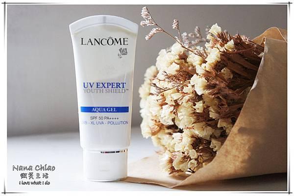 蘭蔻Lancôme-超輕盈UV提亮素顏霜&超輕盈UV水凝露11.jpg