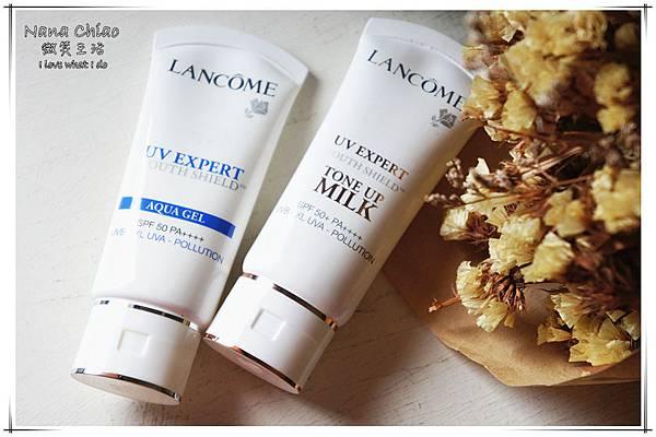 蘭蔻Lancôme-超輕盈UV提亮素顏霜&超輕盈UV水凝露19.jpg