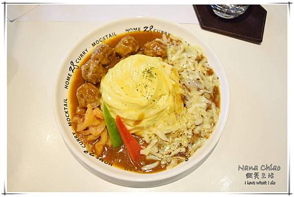 台中美食-台中咖哩-HOME 28-28咖哩專賣店04.jpg